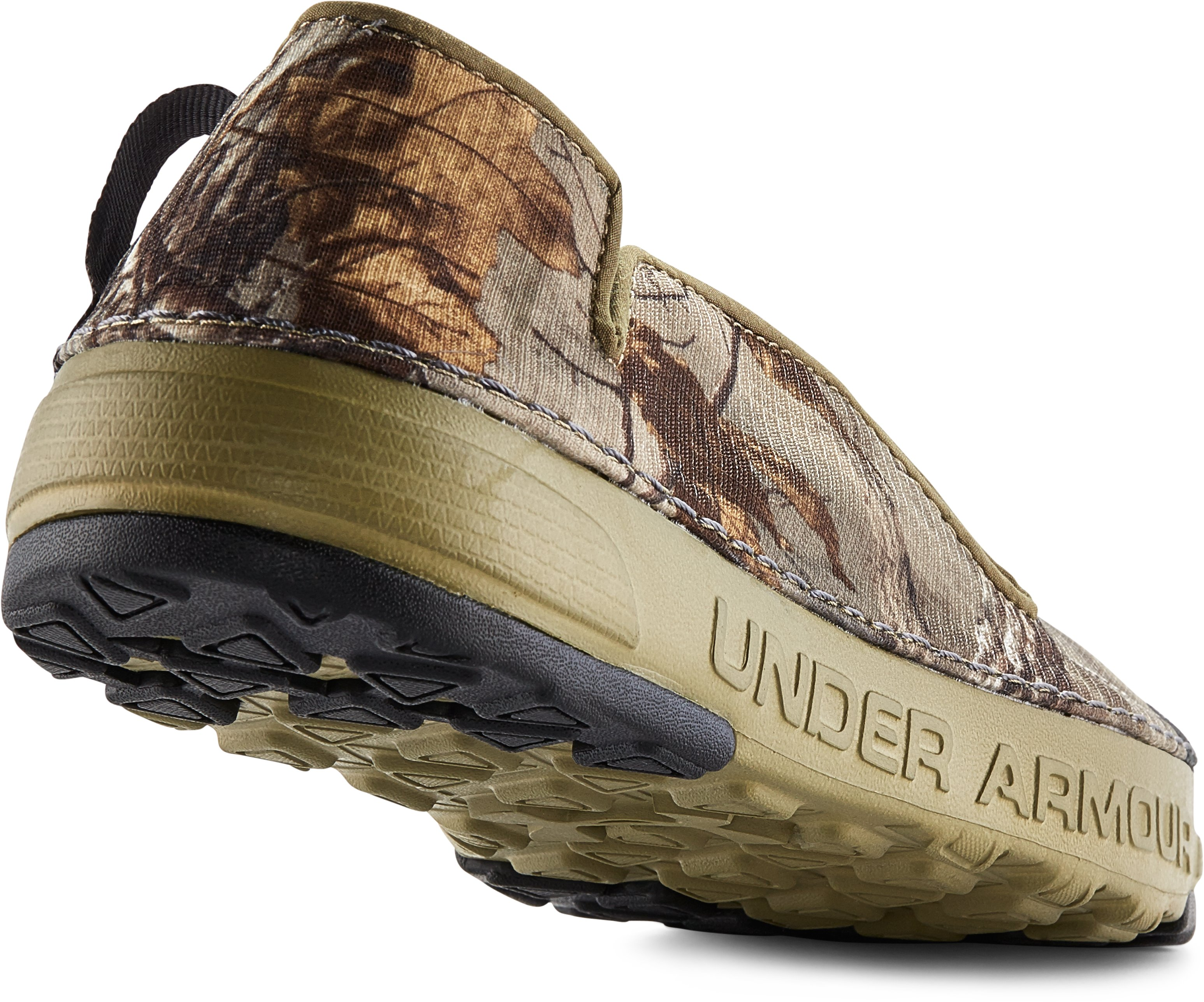 Men's UA Spike Camp Shoes, REALTREE AP-XTRA, undefined