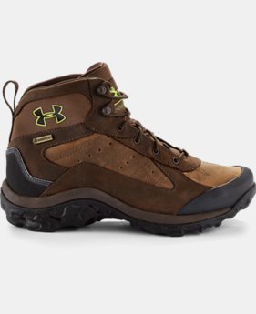Men's UA Wall Hanger Leather Mid Boots  1 Color $209.99