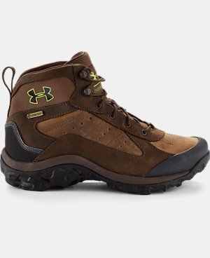 Men's UA Wall Hanger Leather Mid Boots LIMITED TIME: FREE U.S. SHIPPING 1 Color $127.99