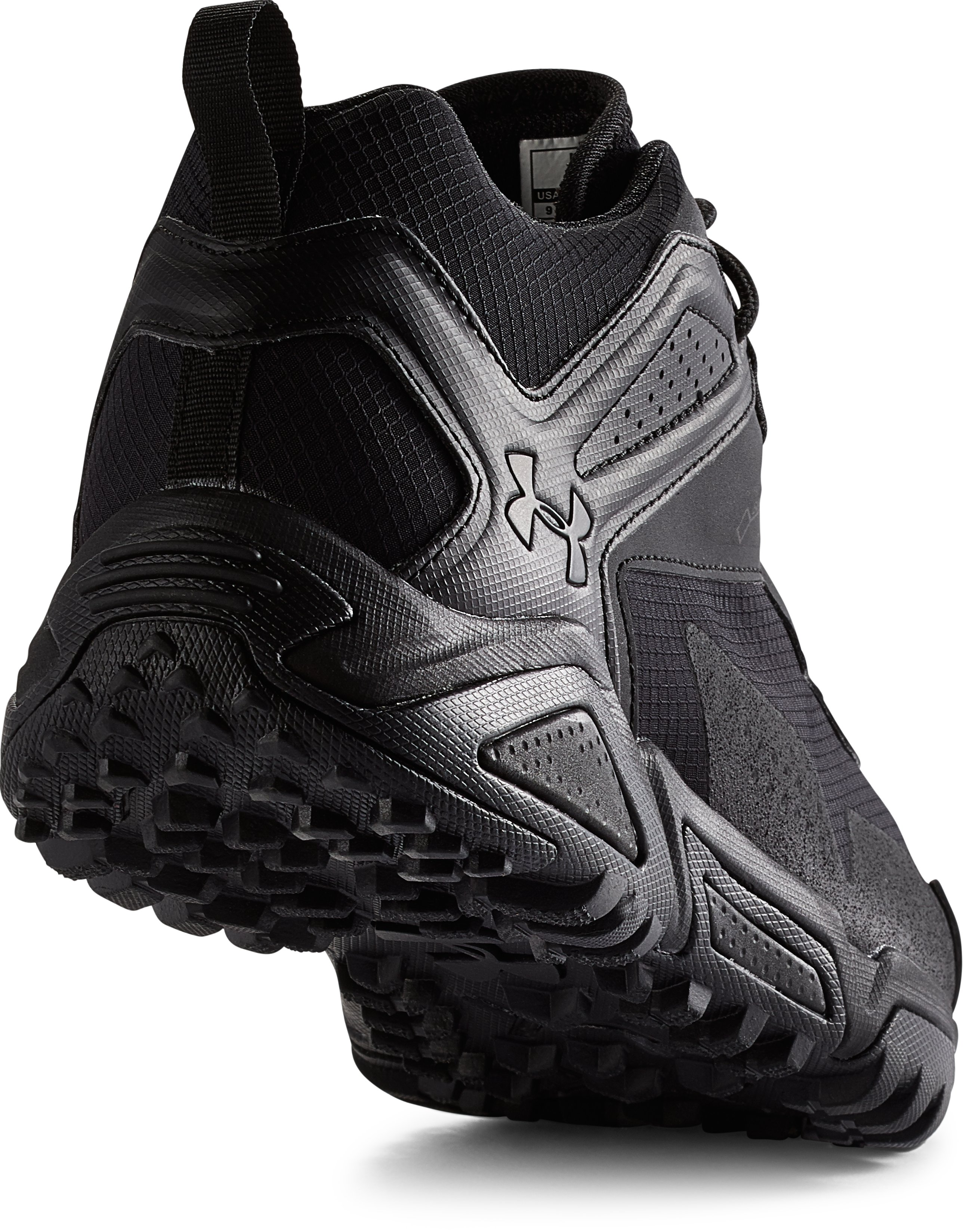 Men's UA Tabor Ridge Low Boots, Black
