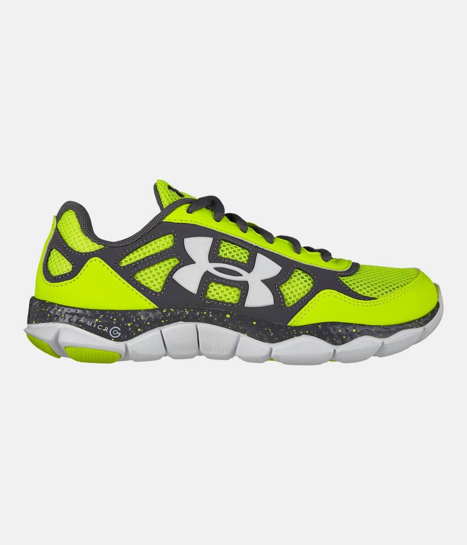 bcc0e3b9b76b3 Boys' Grade School UA Micro G® Engage BL Running Shoes | Under ...