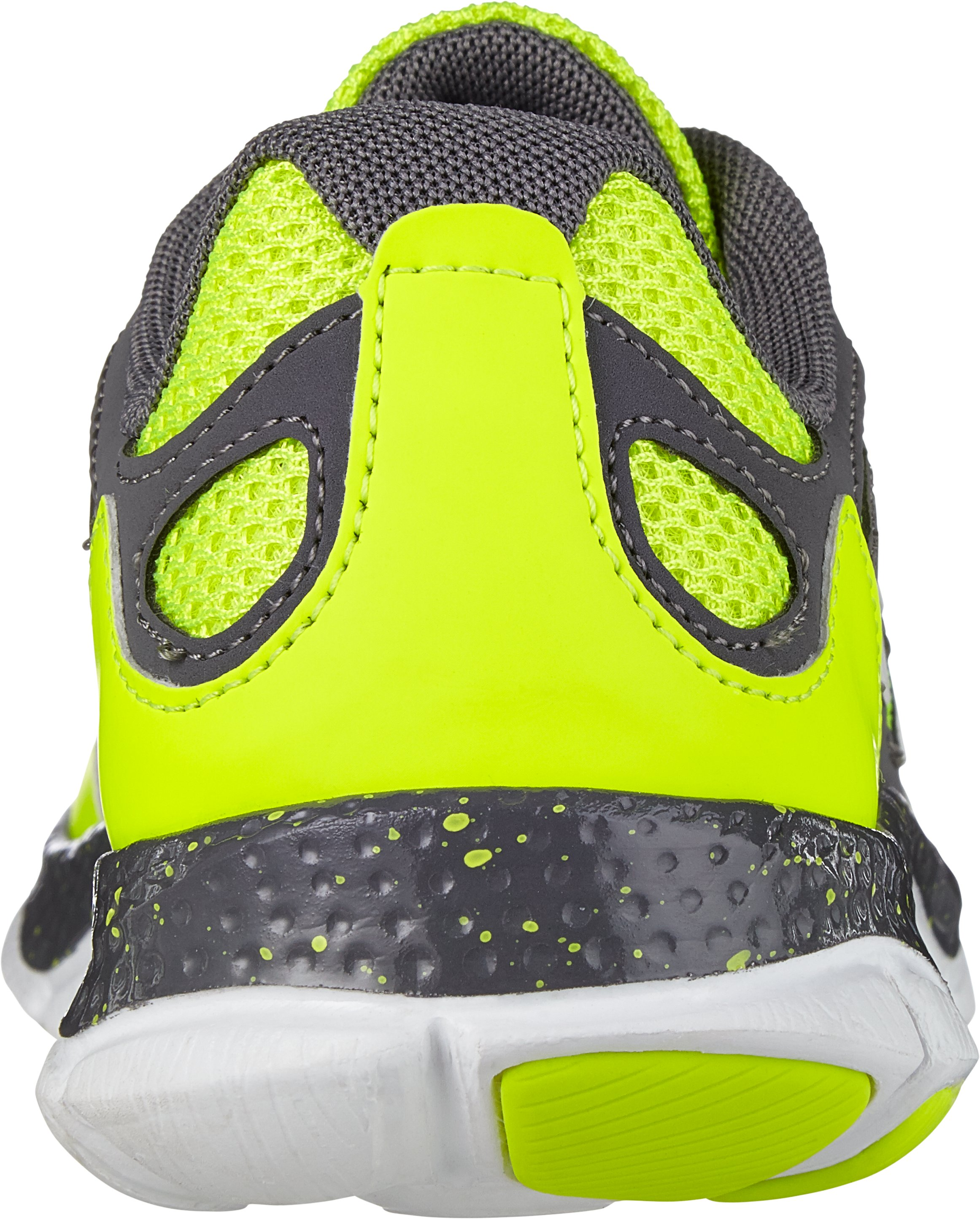 Boys' Grade School UA Micro G® Engage BL Running Shoes, High-Vis Yellow