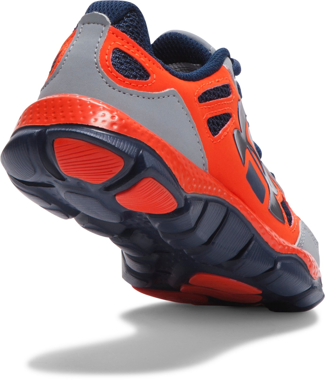 Boys' Pre-School UA Engage BL Shoes, Steel