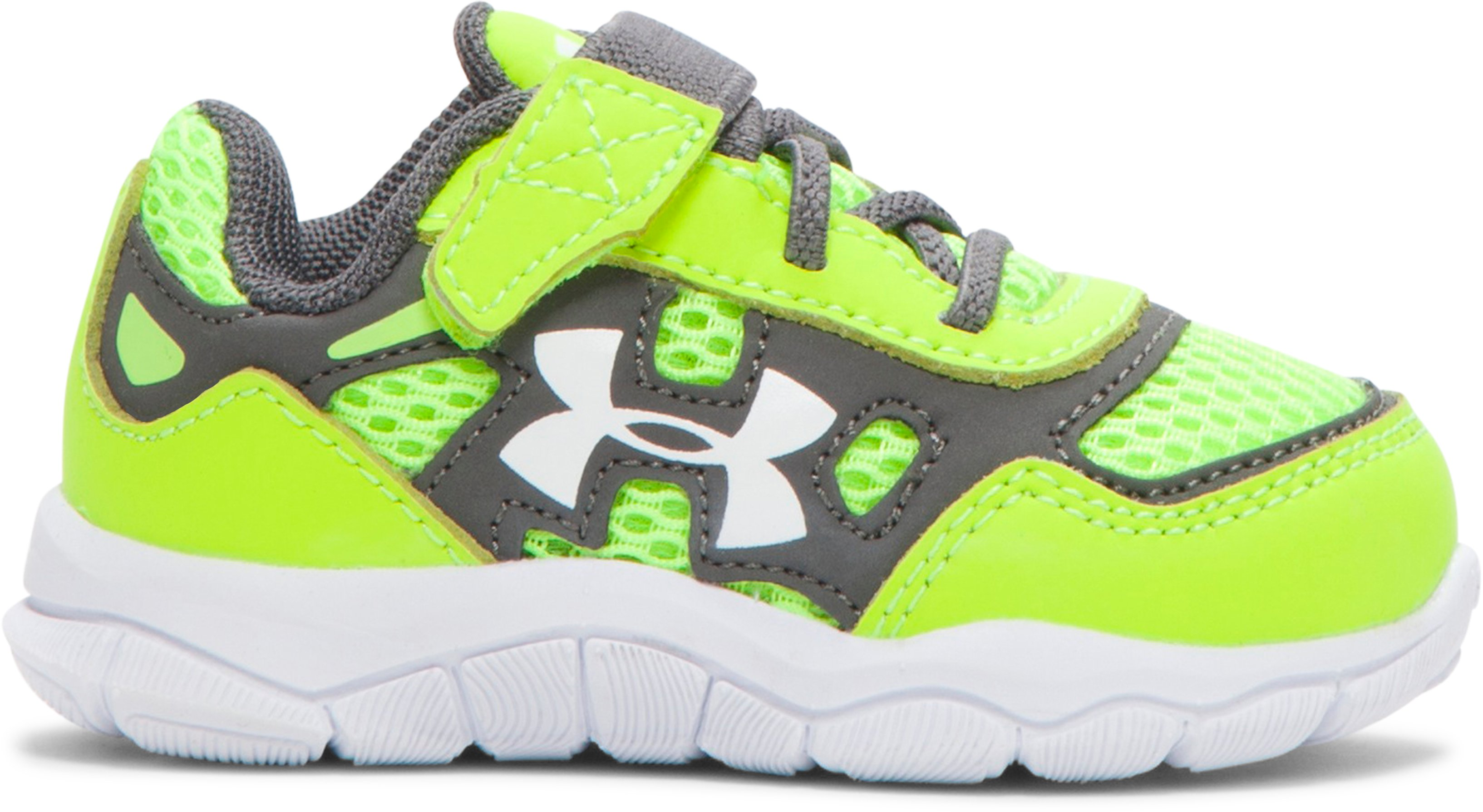 Boys' Infant UA Engage Shoes, High-Vis Yellow,