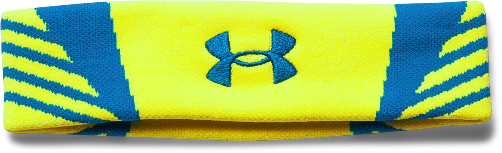 UA ArmourVent Headband, High-Vis Yellow