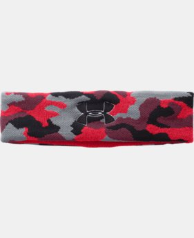 Men's UA Performance Headband  1 Color $4.49