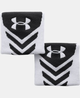 Men's UA Undeniable Wristbands  4 Colors $5.99 to $7.99