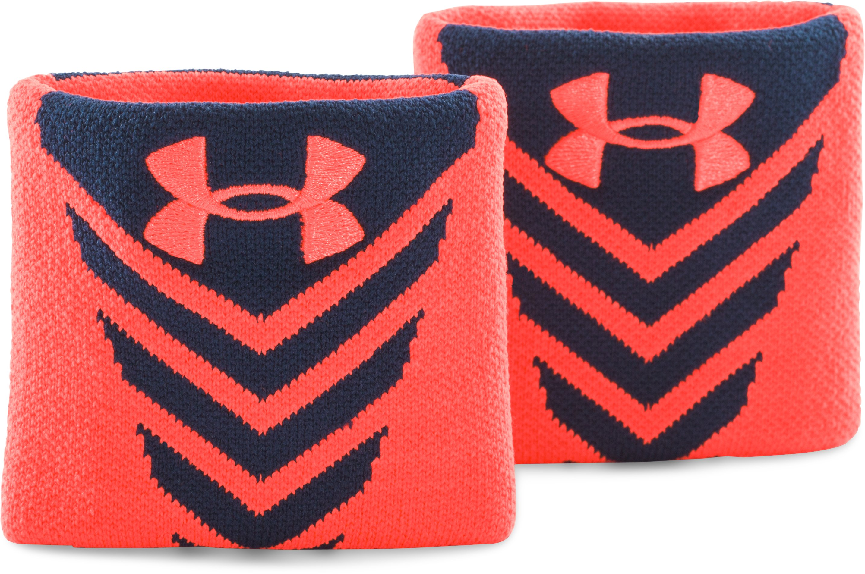 Men's UA Undeniable Wristbands, Academy, zoomed image