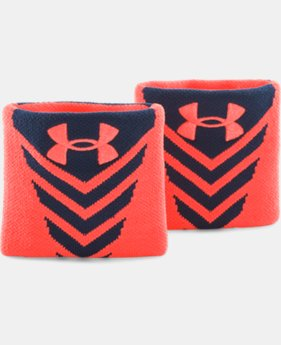 Men's UA Undeniable Wristbands  1 Color $4.49