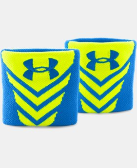 Men's UA Undeniable Wristbands  1 Color $6.74