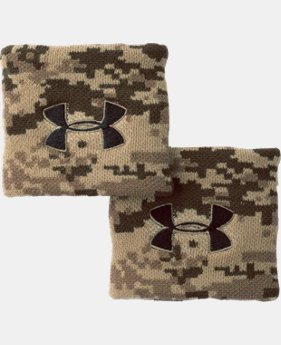 Men's UA Performance Wristbands  5 Colors $5.99 to $7.99