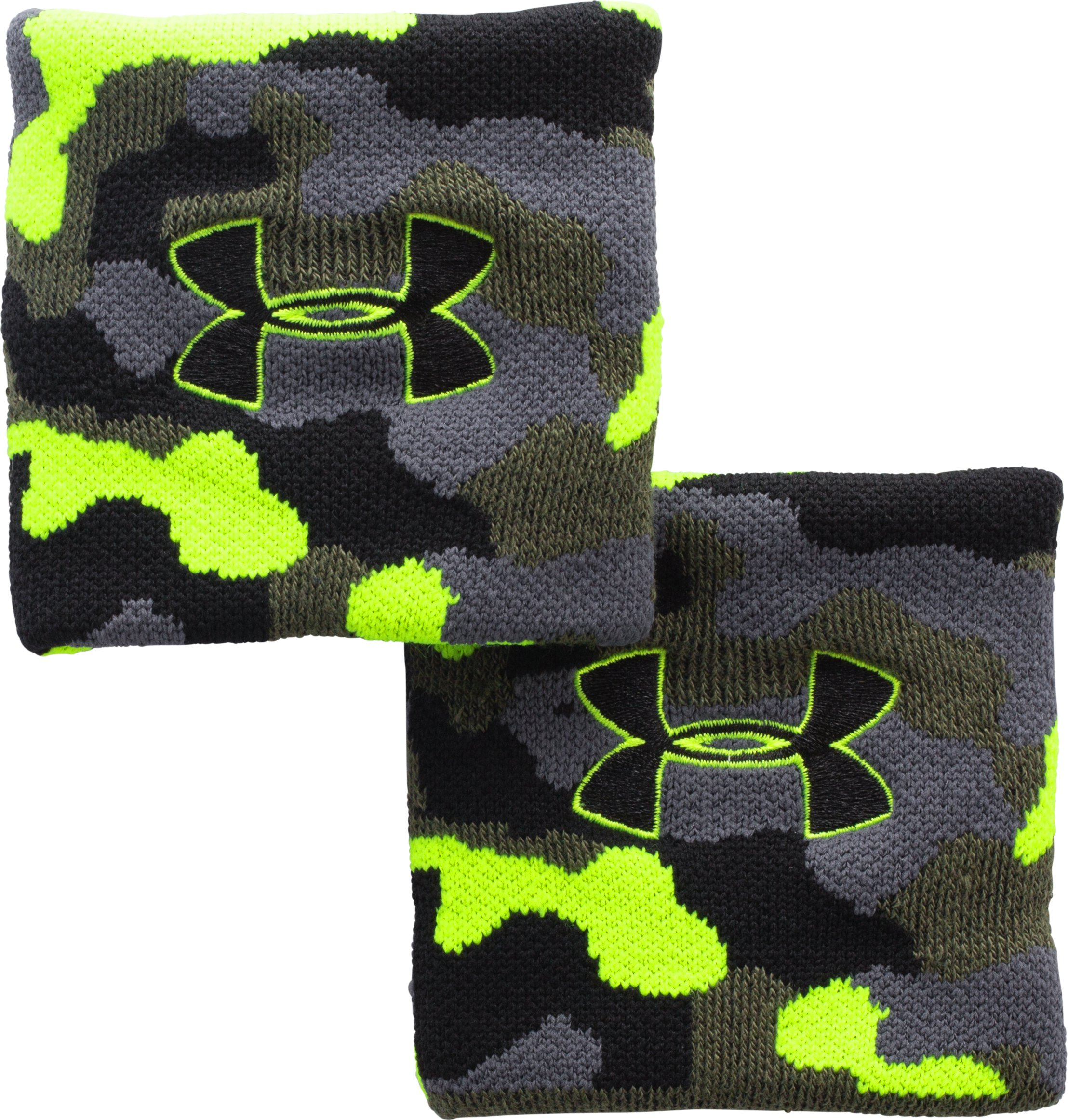 Men's UA Performance Wristbands, Rough, undefined