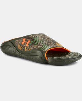 Men's UA Compression II Camo Sandals  1 Color $37.99