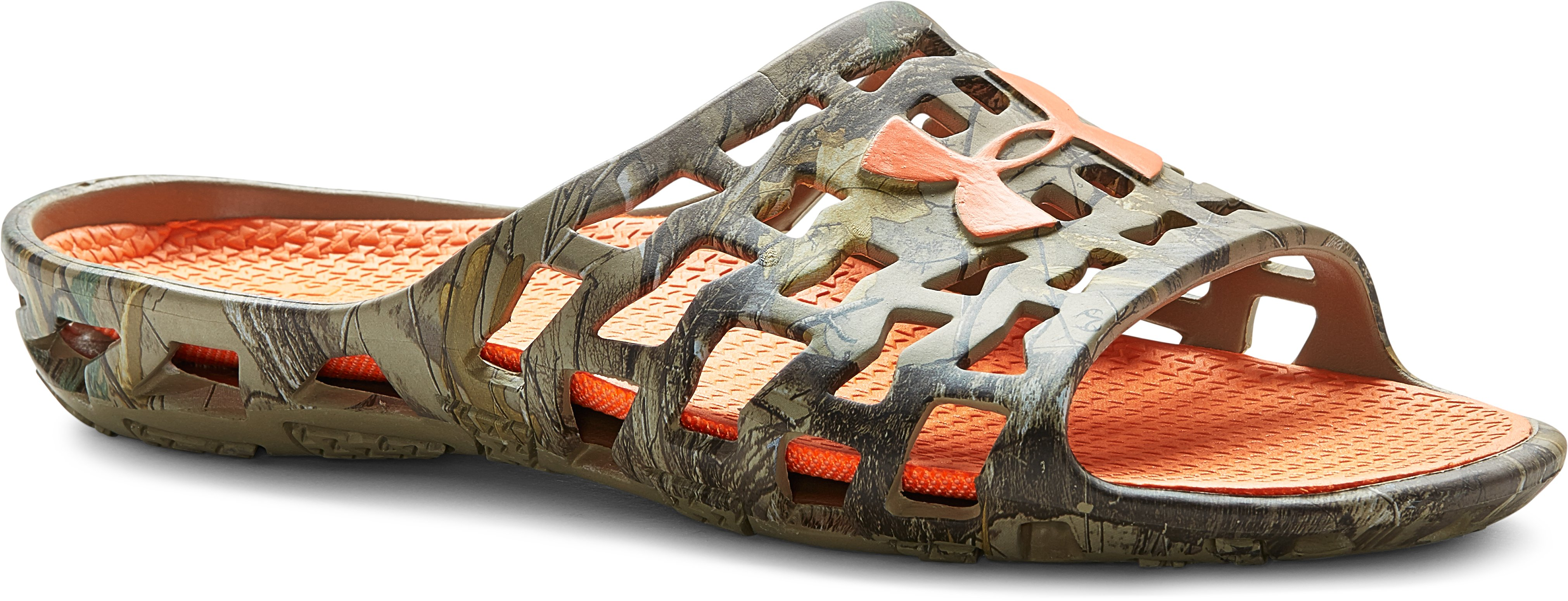 Men's UA Mavrix Camo SL Sandals, REALTREE AP-XTRA