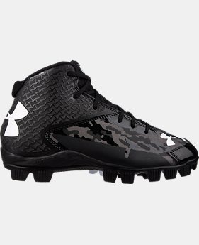 Boys' UA Deception Mid RM Baseball Cleats