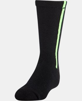 Boys' UA Baseball Logo Crew Socks
