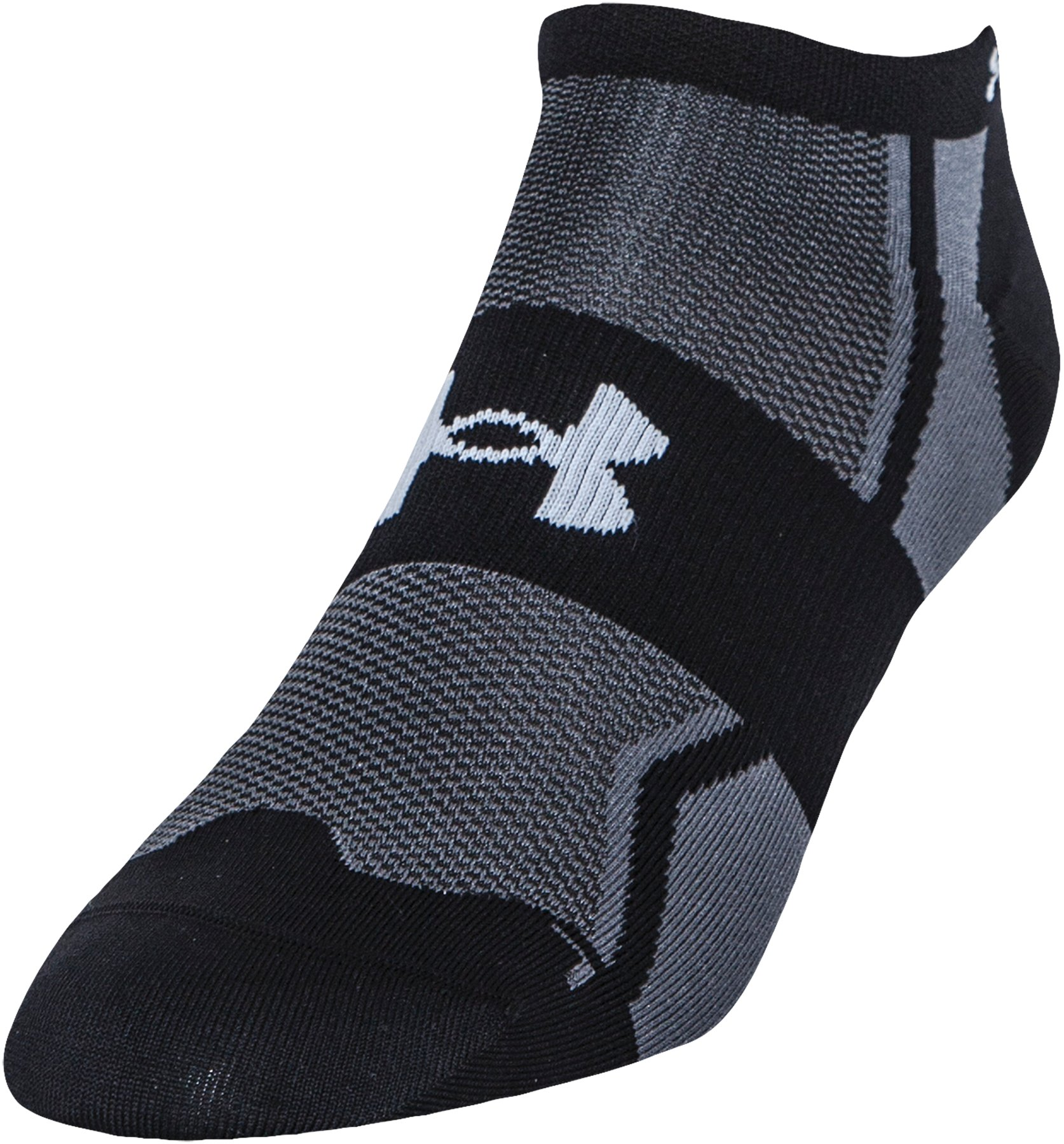 Men's UA SpeedForm® No-Show Socks - 3 for $30, Black