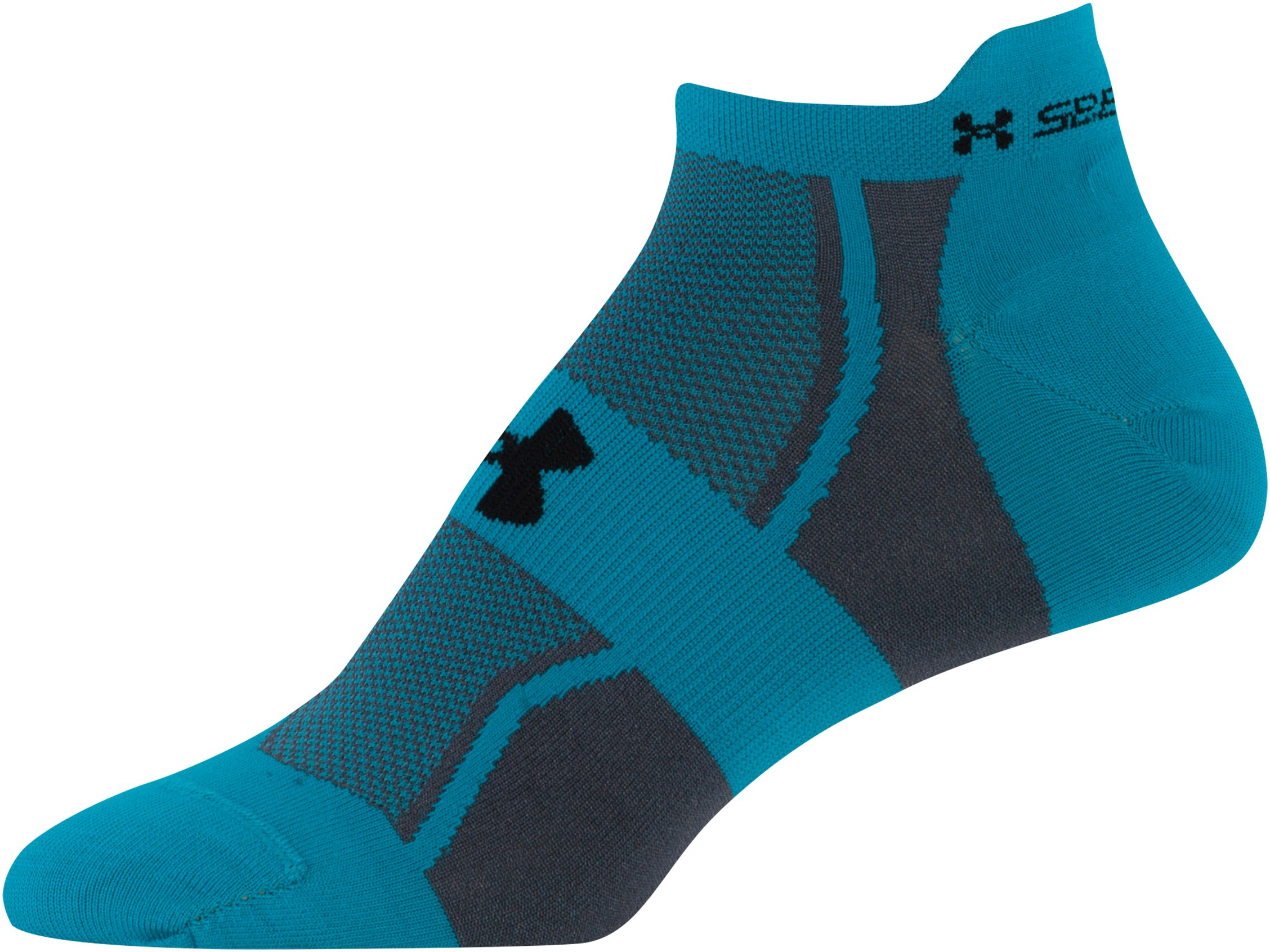 Women's UA SpeedForm® No-Show Socks - 3 for $30, Pacific