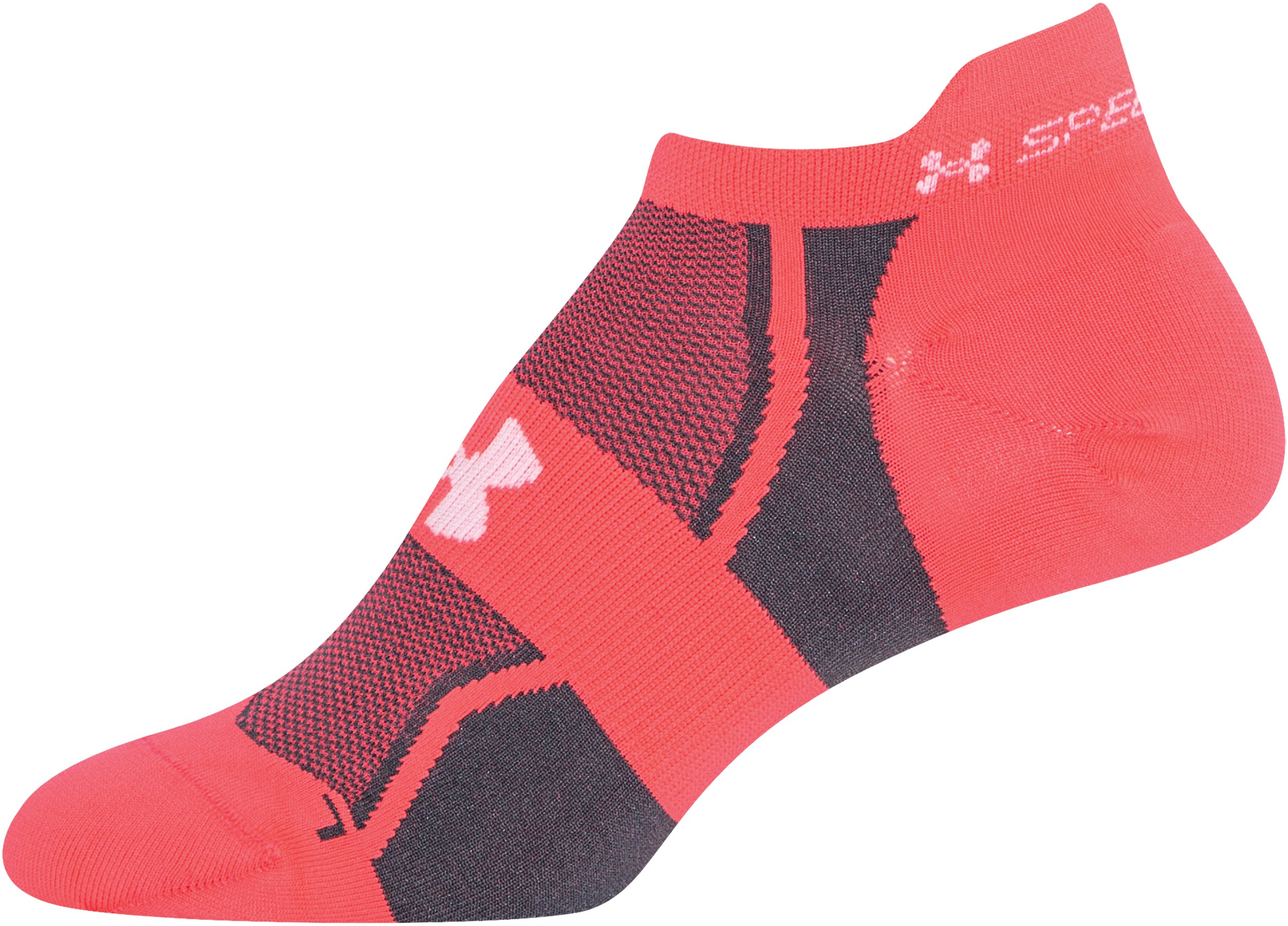 Women's UA SpeedForm® No-Show Socks - 3 for $30, Neo Pulse