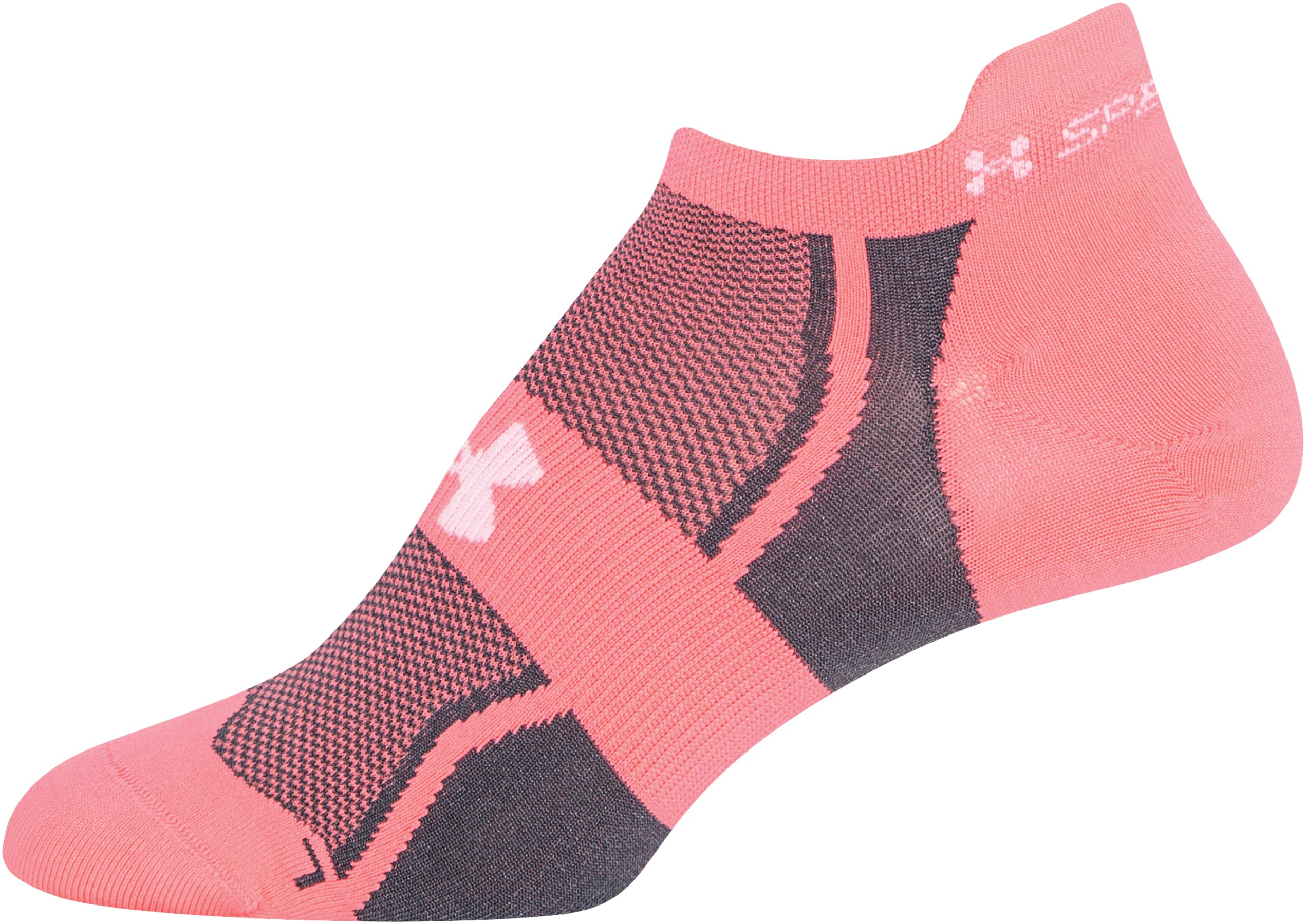Women's UA SpeedForm® No-Show Socks - 3 for $30, BRILLIANCE, zoomed image