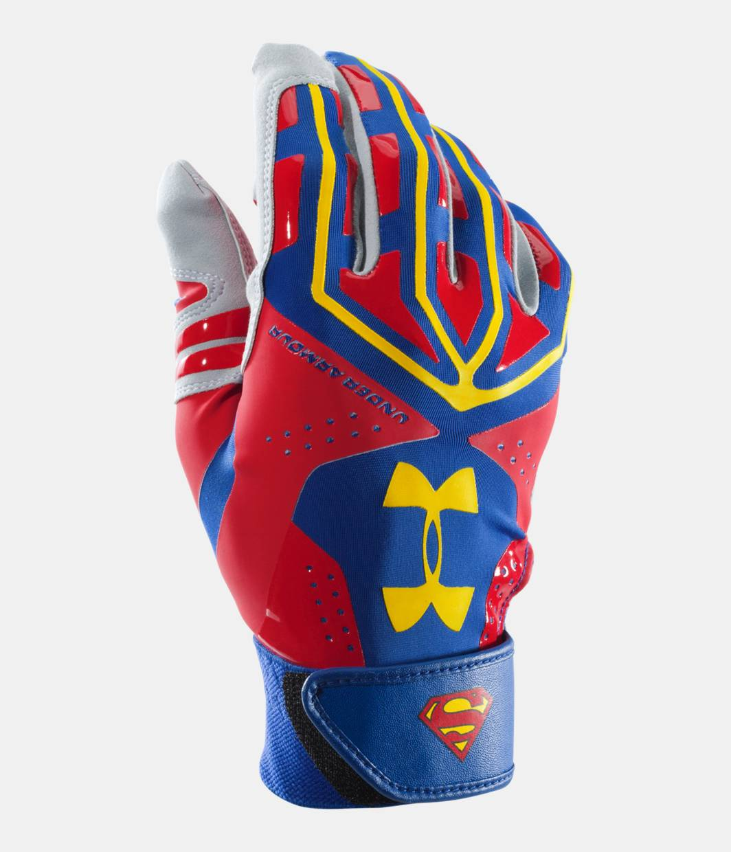 men s ua superman motive batting glove under armour us. Black Bedroom Furniture Sets. Home Design Ideas