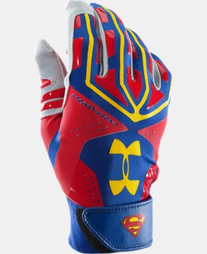 Men's UA Superman Motive Batting Glove  1 Color $25.49