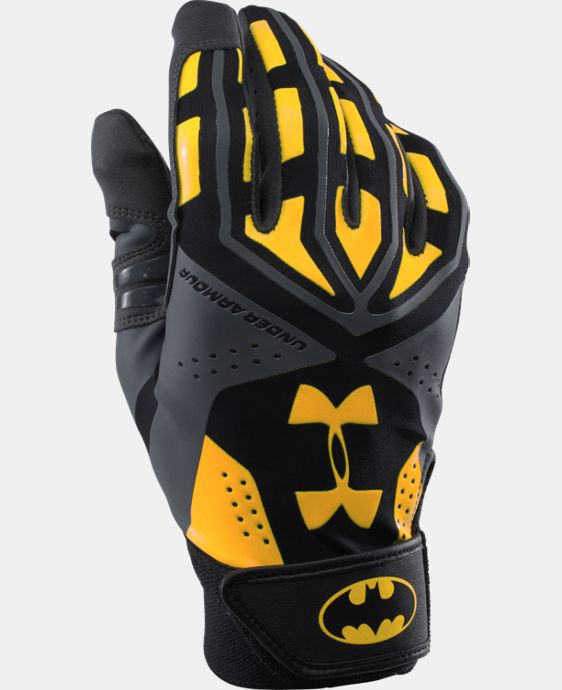 UA Batman Motive Batting Glove LIMITED TIME: FREE SHIPPING 1 Color $22.49