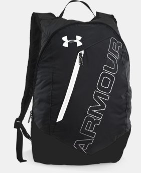 UA Packable Backpack  2  Colors Available $29.99
