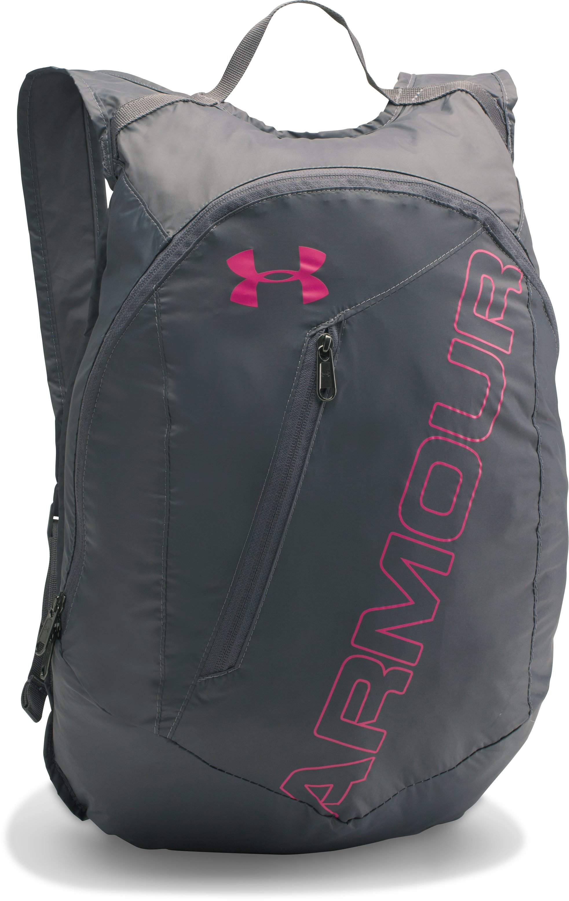 UA Packable Backpack, Graphite, zoomed image