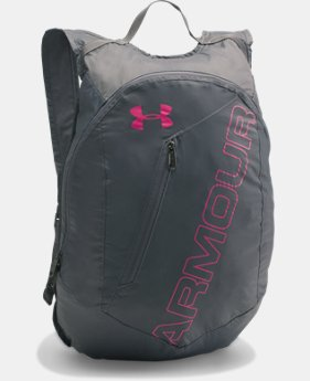 UA Packable Backpack  3 Colors $34.99