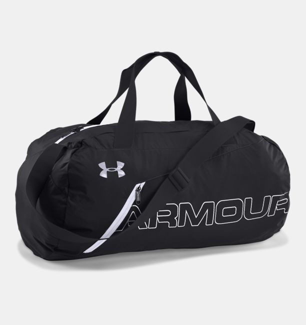UA Packable Duffle Bag Black