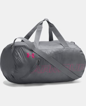 UA Packable Duffle Bag  1  Color Available $29.99