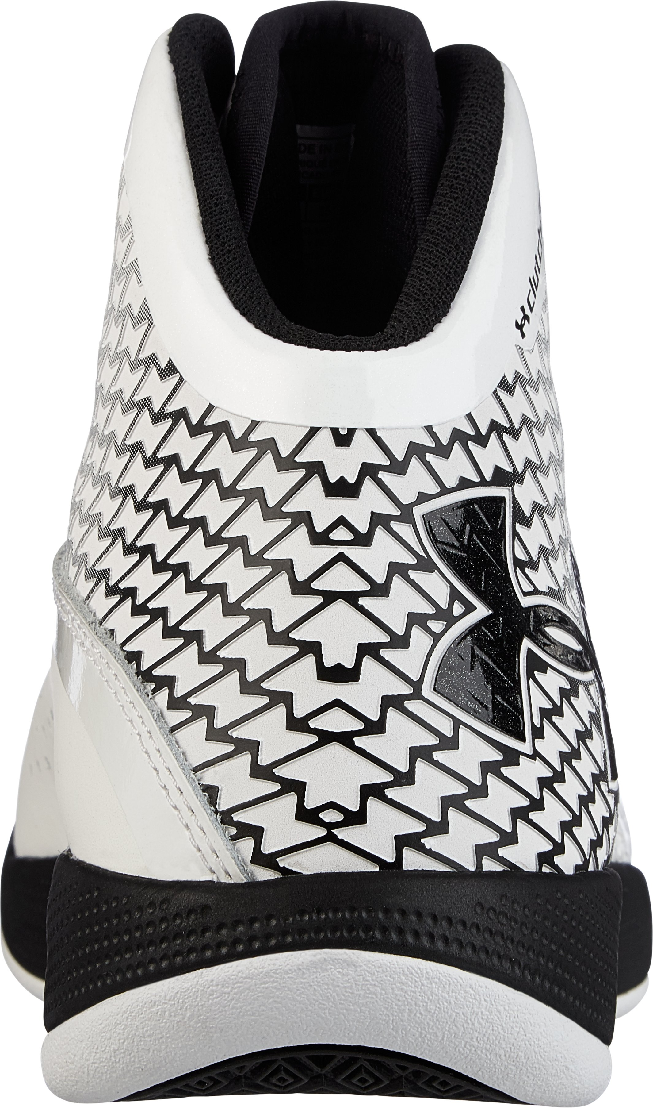 Women's UA Micro G® Torch Basketball Shoe , White, undefined