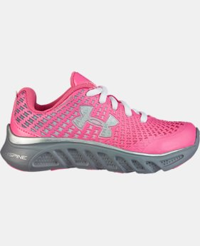Girls' Pre-School UA Spine™ Clutch Running Shoes