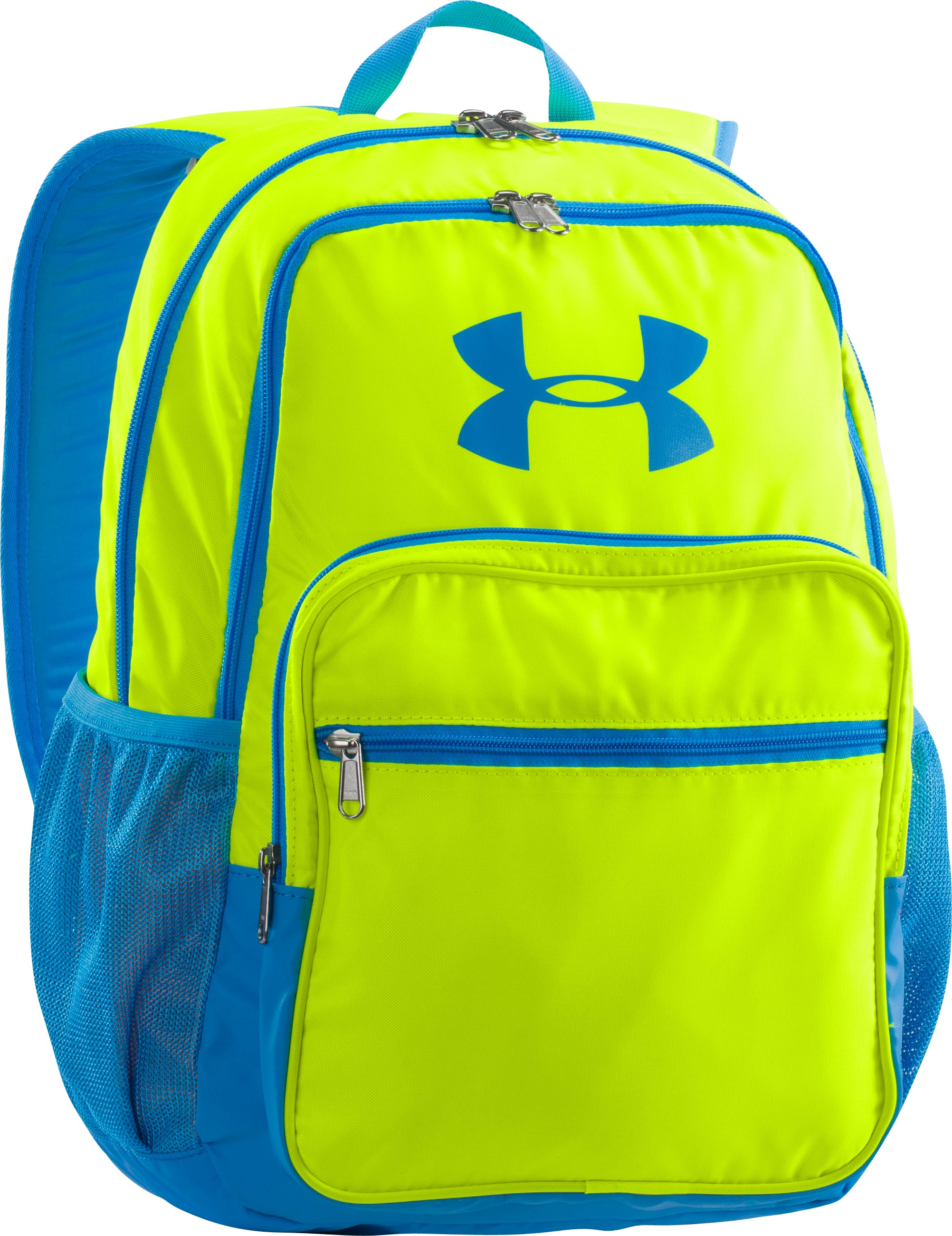 Boys' UA Storm Hall Of Fame Backpack, High-Vis Yellow