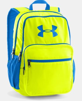 Boys' UA Storm Hall Of Fame Backpack LIMITED TIME: FREE U.S. SHIPPING 1 Color $25.49 to $33.99