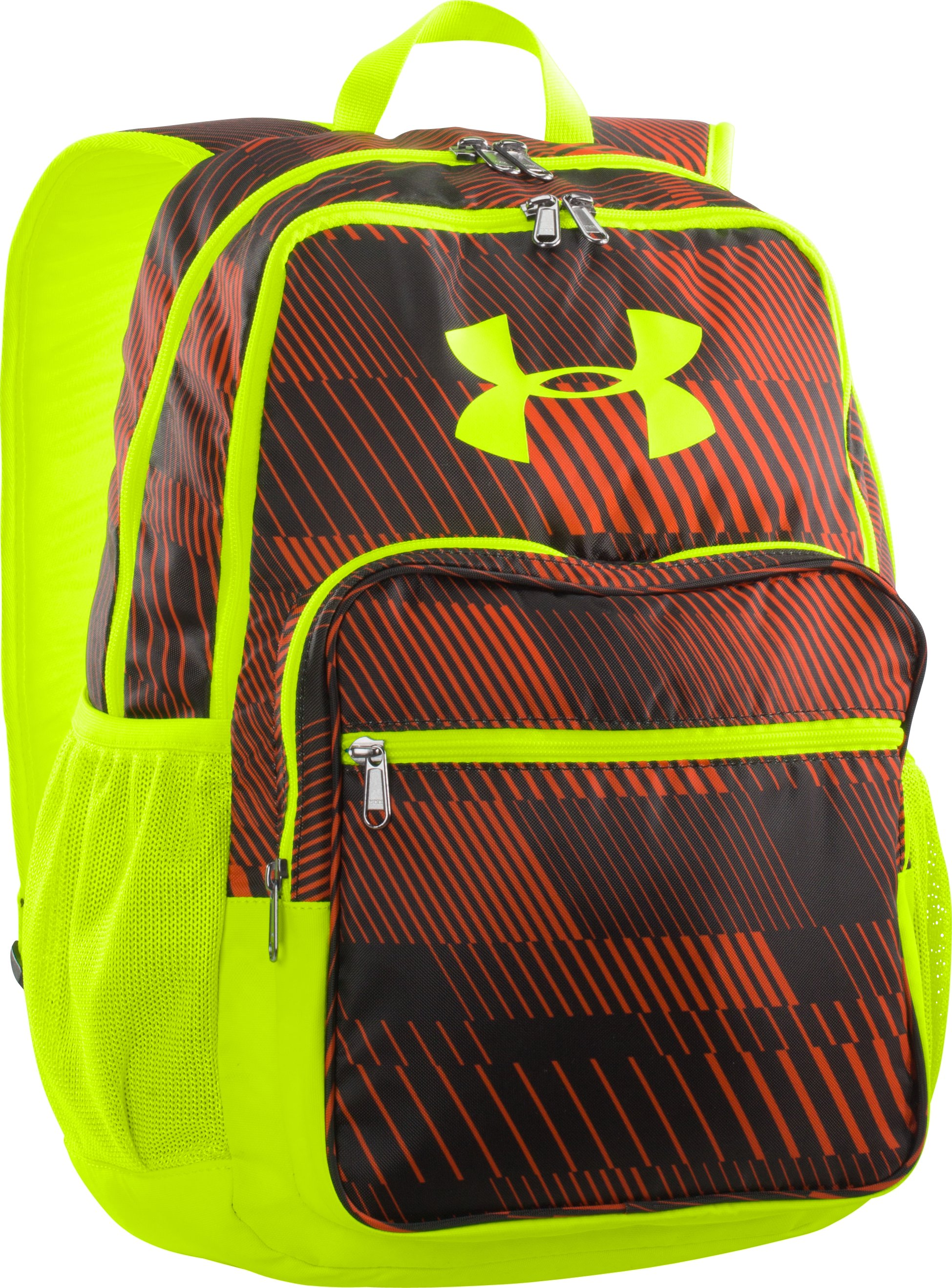 Boys' UA Storm Hall Of Fame Backpack, Blaze Orange