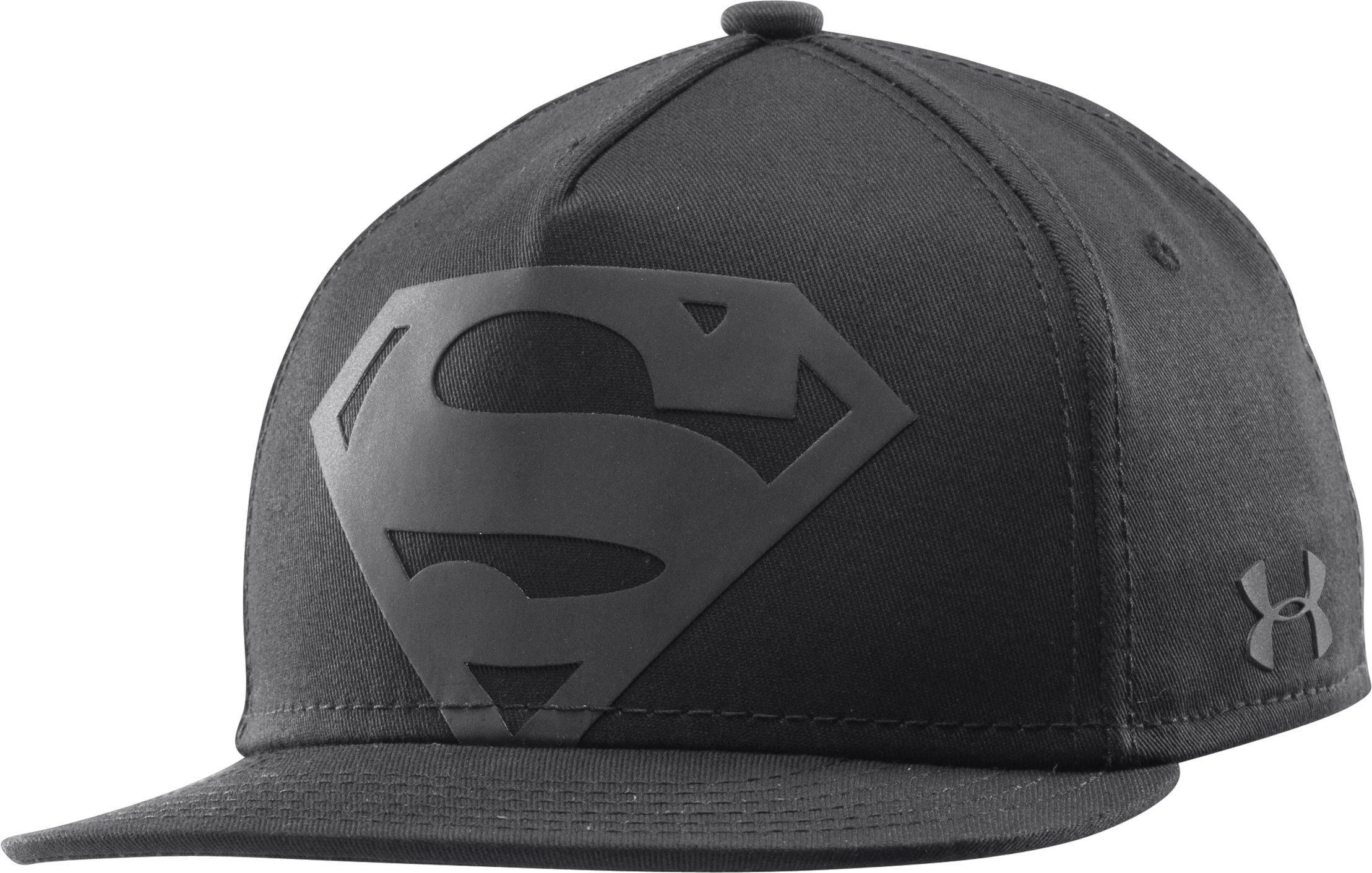 Boys' Under Armour® Alter Ego Superman Reflective Cap, Black , undefined
