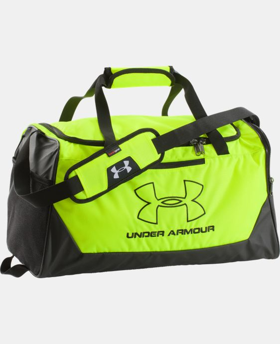 UA Storm Hustle-r Small Duffle  2 Colors $29.99