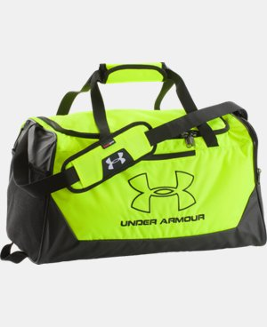 UA Storm Hustle-r Small Duffle LIMITED TIME: FREE U.S. SHIPPING 2 Colors $29.99