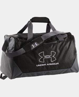 UA Hustle-R Storm MD Duffle LIMITED TIME: FREE U.S. SHIPPING 1 Color $34.99