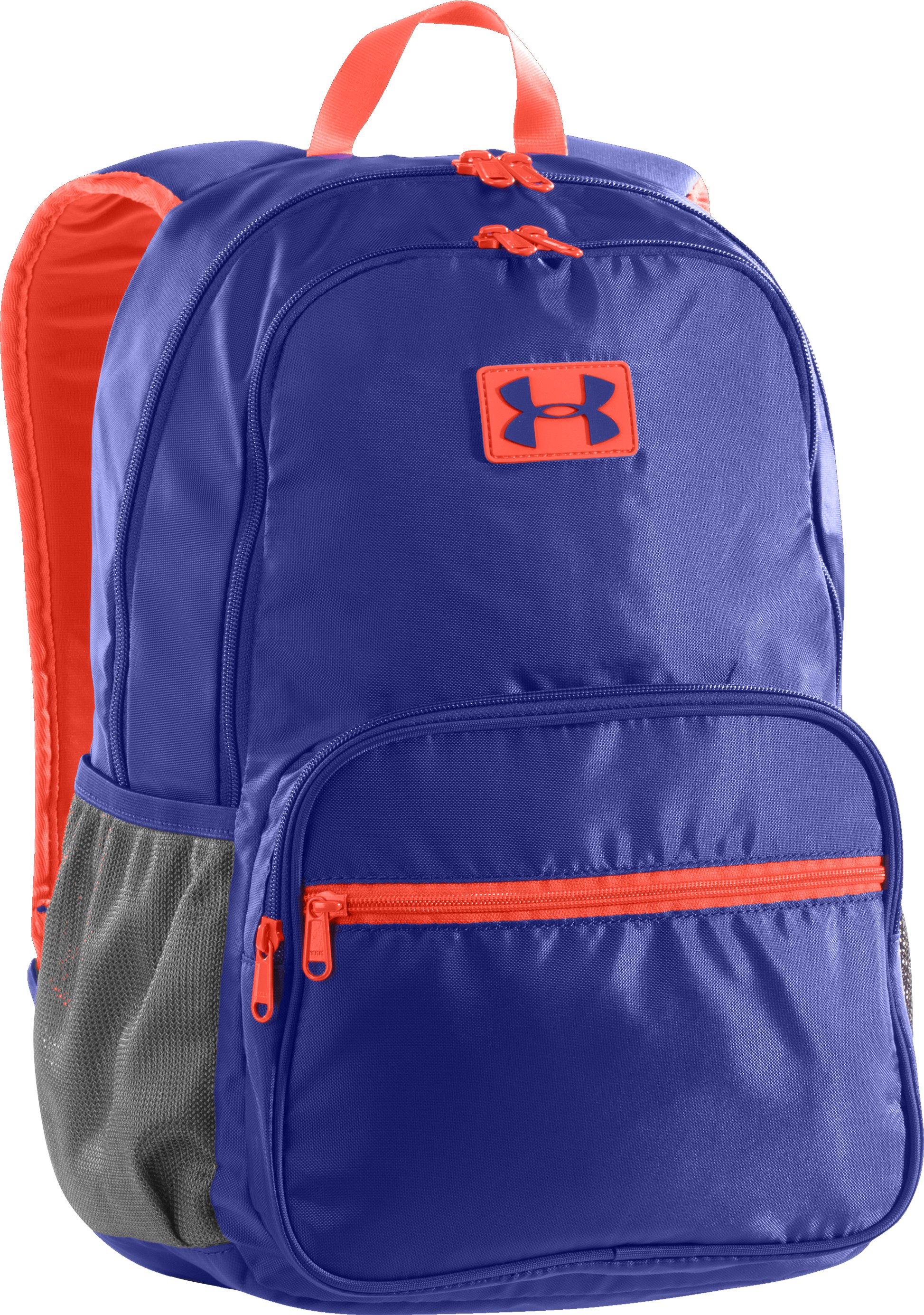 Girls' UA Great Escape Backpack, SIBERIAN IRIS, zoomed image