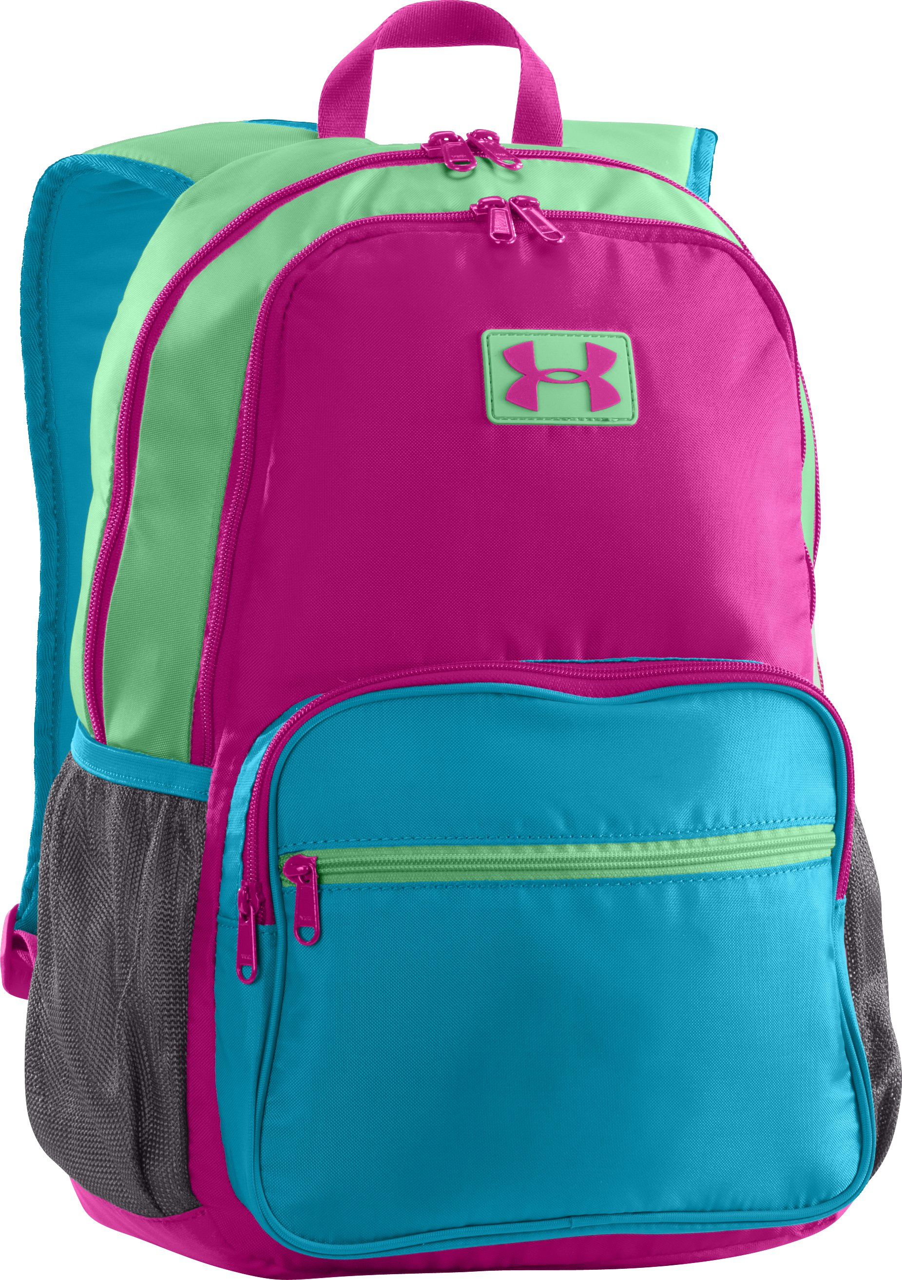 Girls' UA Great Escape Backpack, MAGENTA SHOCK, zoomed image