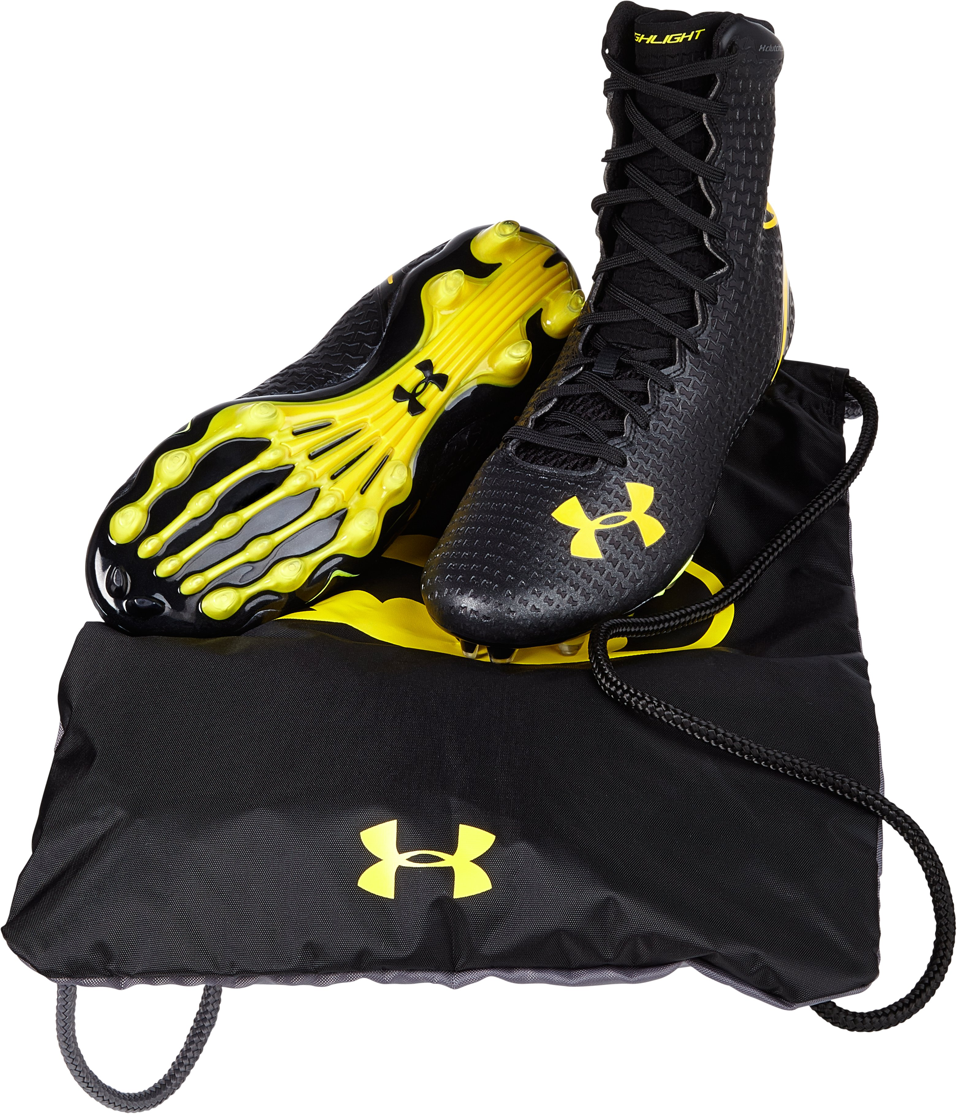 Men's Under Armour® Alter Ego Highlight MC Football Cleats, Black , undefined