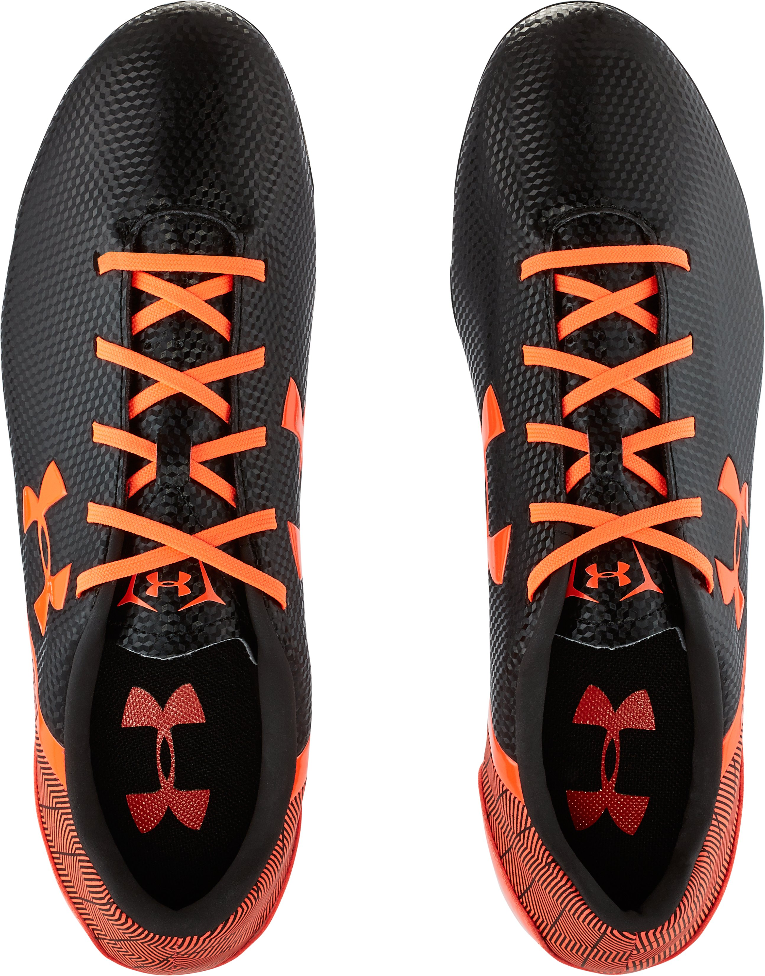 Men's UA SF Flash FG Soccer Cleats, Black , undefined
