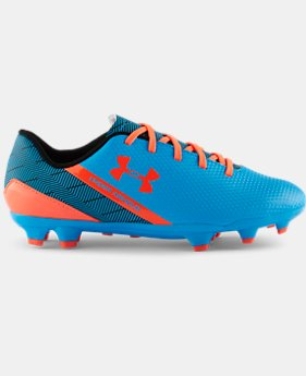 Kids' UA Flash FG Jr. Soccer Cleats