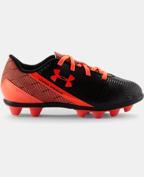 Kids' UA Flash HG Jr. Soccer Cleats LIMITED TIME: FREE SHIPPING 2 Colors $29.99