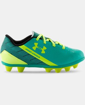 Kids' UA Flash HG Jr. Soccer Cleats LIMITED TIME: FREE U.S. SHIPPING 1 Color $23.99
