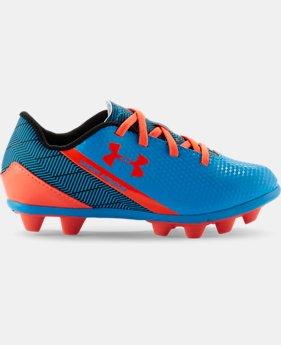 Kids' UA Flash HG Jr. Soccer Cleats
