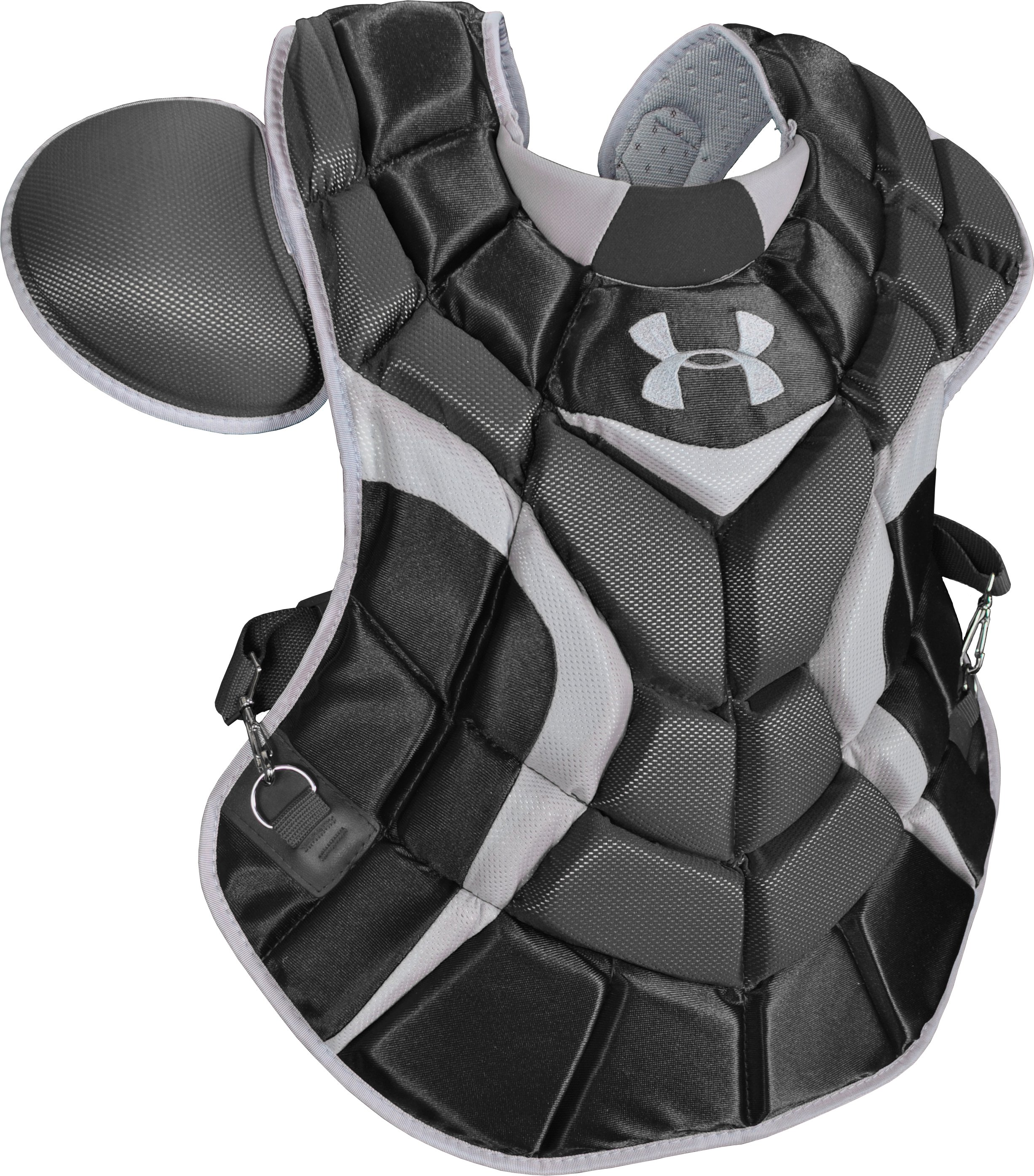 Men's Pro Catcher's Chest Protector, Black , zoomed image